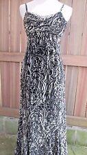 Badgley Mischka Cocktail Dress Size 2 Black Gray Silver Spaghetti Strap  Velvet