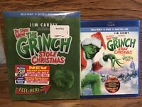 Dr Seuss How The Grinch Stole Christmas (Blu-ray Deluxe Edition) Disc NM NoDigit