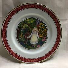 Franklin Porcelain 1983 The Secret Garden The Tales Of Enchantment Plate Limited