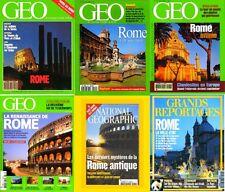 ROME - ITALIE - revues  - GEO / prixportcompris