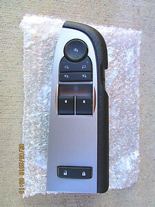10 - 13 CHEVY SILVERADO 1500 GMC SIERRA MASTER POWER WINDOW SWITCH NEW 15912074