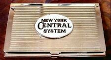 New York Central System Railroad Business Card Case