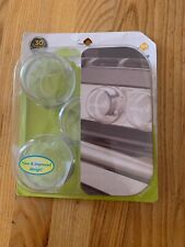 2X Safety Clear View Stove Knob Covers Baby Protection Children Kids Gas Lock DD
