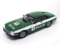 JAGUAR XJS RACING GREEN NO1 DIECAST MODEL EXCELLENT EXAMPLE 1:18 SCALE RARE ITEM