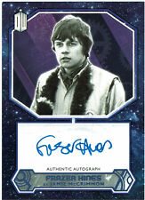 Doctor Who 2015 Autograph Frazer Hines as Jamie McCrimmon Purple Parallel #10/25