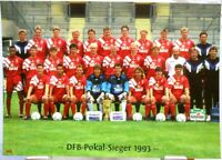 Bayer 04 Leverkusen + DFB Pokal Sieger 1993 + Fan Big Card Edition F146 +