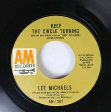 Rock 45 Lee Michaels - Keep The Circle Turning / Do You Know What I Mean On A& 6