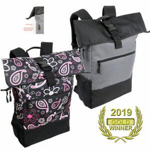 Damen Rucksack groß Kurierrucksack Laptopfach für Uni Sport & Freizeit günstig!