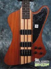 New Epiphone Thunderbird Pro IV Electric Bass Guitar - Natural - Neck Through