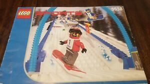 Lego Sports 3538 Snowboard Boarder Cross Race - Instruction Manual Only!