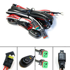 Car LED Lights Wire Harness Kit ON/OFF Switch 2 Lead Waterproof for ATV Boat TUV