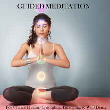 Guided Meditation CD for Chakra Healing Grounding Balancing & Well Being - CD3