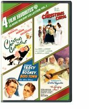4 Film Favorites: Classic Holiday (Christmas Carol, Christmas Conn.) [Dvd] New!