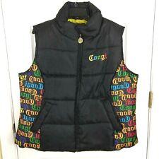 COOGI Womens Varsity Jacket Black and White Women Size 1X Extra Large