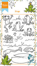Marianne Design Clear Rubber Stamps HETTY'S FROGS HT1617