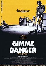 Gimme Danger The Stooges Japanese Chirashi Mini Ad-Flyer Poster 2016 Jarmusch