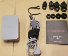 8 Black Various Sized Elipse Earbuds & Hook with Charger & Base for Jawbone ERA