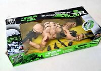 TOY CRAWLING Soldier Army Military Batter Operated Ultra corps With Accessories