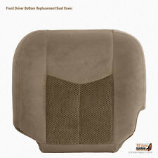 2004 Chevy Silverado 1500 2500 HD LS LT-Driver Side Bottom Cloth Seat Cover Tan
