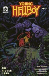 Young Hellboy: Hidden Land #4 - Bagged & Boarded