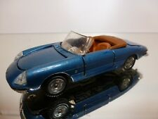 MEBETOYS  A18 ALFA ROMEO SPIDER DUETTO - BLUE METALLIC 1:43 - GOOD CONDITION