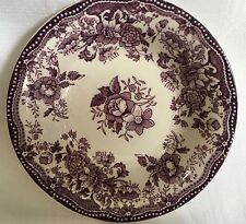 "Royal Staffordshire 1930's Tonquin By Clarice Cliff 5"" Round Berry Bowl Purple"