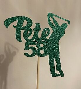 Personalised Golf Cake Topper