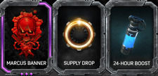 MARCUS Fenix BANNER PACK DLC GEARS OF WAR 5 XBOX ONE Supply Drop 24 Hour Boost
