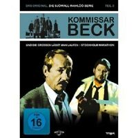KOMMISSAR BECK-TEIL 3 - 2 DVD NEUWARE GÖSTA EKMAN,KJELL BERGQVIST,ROLF LASSGARD