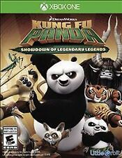 Kung Fu Panda Showdown of Legendary Legends GAME Microsoft Xbox One 1 XB XB1 XB3