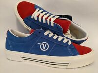 Vans New Sid DX Anaheim Factory OG Blue/OG Red Men Size USA 9 UK 8.5 EUR 42