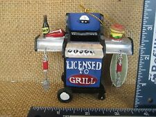 Cannon Falls Licensed To Grill Grilling With Beer T Bone Steak Ornament NEW
