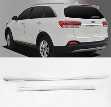Rear Trunk Lid Chrome Garnish Molding  For 2016 2017 Kia Sorento ALL NEW SORENTO