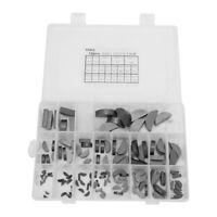 135pcs Semicircle Bond Woodruff Keys Assortment Kit Flywheel Pulley Crank