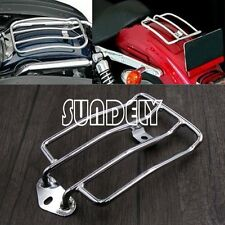 Motorcycle Solo Seat Rear Luggage Rack Support Shelf For 85-03 Harley XL883/1200