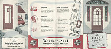 Combination Storm & Screen Doors Vintage Brochure Weather-Seal of Central NY