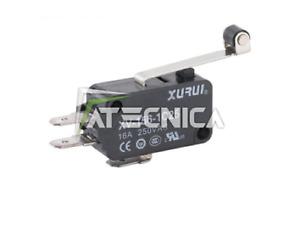 10pz Microswitch Mikroschalter Schaltfläche Micro Switch 250V 16A Hebel Lager