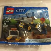 New City Roadside Worker Lego Set Polybag