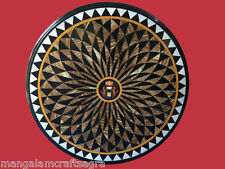 """30"""" Marble Center Coffee Table Top Inlay Handicraft Work For Room Decor"""