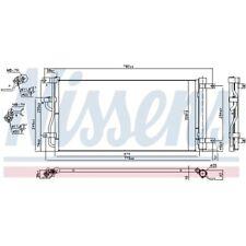 1 Condenseur, climatisation NISSENS 940569 convient à GMC OPEL VAUXHALL
