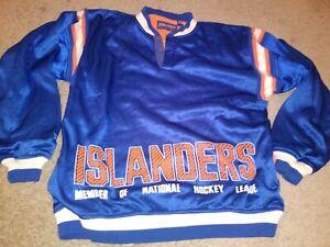 VTG STARTER SWEATSHIRT NEW YORK ISLANDERS FISHERMAN L NHL HOCKEY 80S 90S