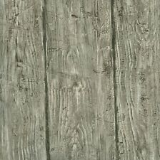 HTM49415 Rodeo Grey Wood Wall Wallpaper  33 FOOT LONG ROLL