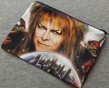 Jareth Poly Mesh Zipper Pouch Cosmetic Makeup Bag Labyrinth Bowie
