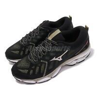 Mizuno Wave Ultima 11 Black Gold White Men Running Shoes Sneakers J1GC1966-01