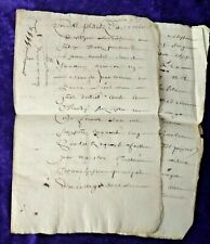 More details for beautifully written 1655 8 page document written in latin