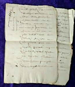 Beautifully written 1655 8 page document written in Latin