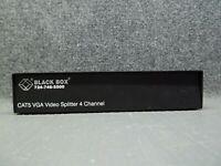 Black Box AC501A-R2 Network 4-Channel 4-Port Cat5 VGA Video Splitter KVM Switch