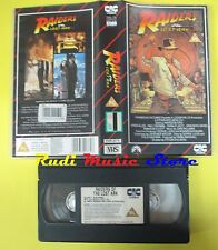 VHS film INDIANA JONES raiders of the lost ark 1981 CIC VHR 2076 (F79) no dvd