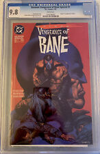 Batman: Vengeance of Bane #1 CGC 9.8  1ST Appearance of Bane!