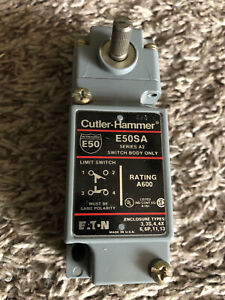 Cutler Hammer ~ E50SA ~ Rotary Limit Switch ~ E50DR1- Eaton FREE SHIPPING USA